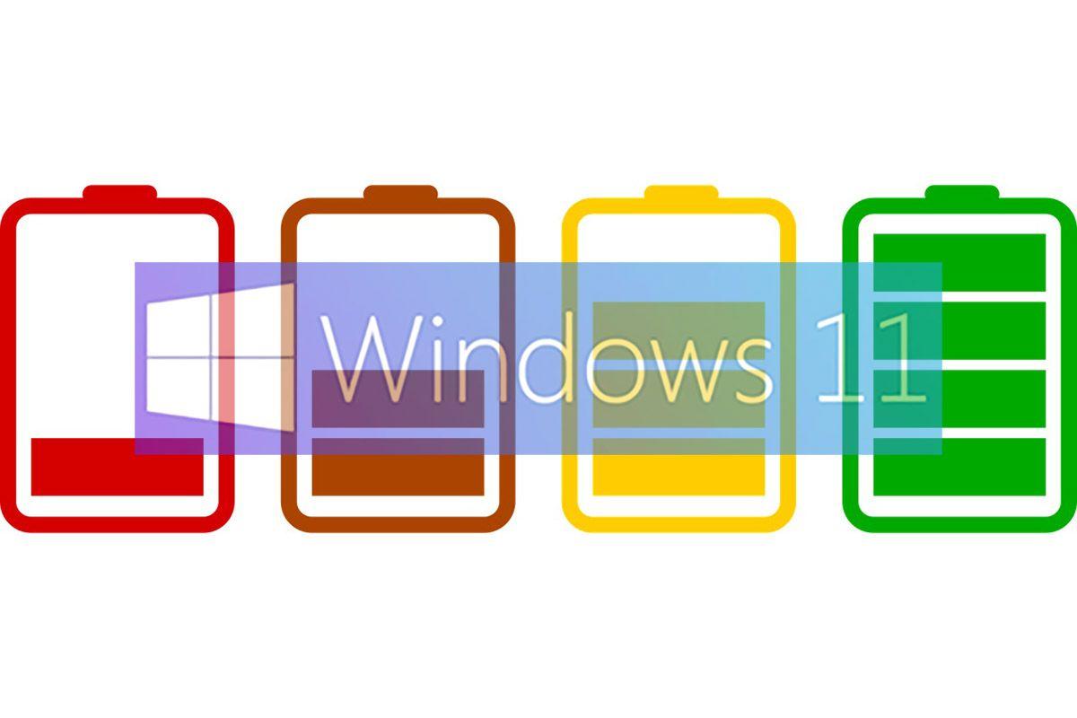 comprobar la salud de la batería en windows 11