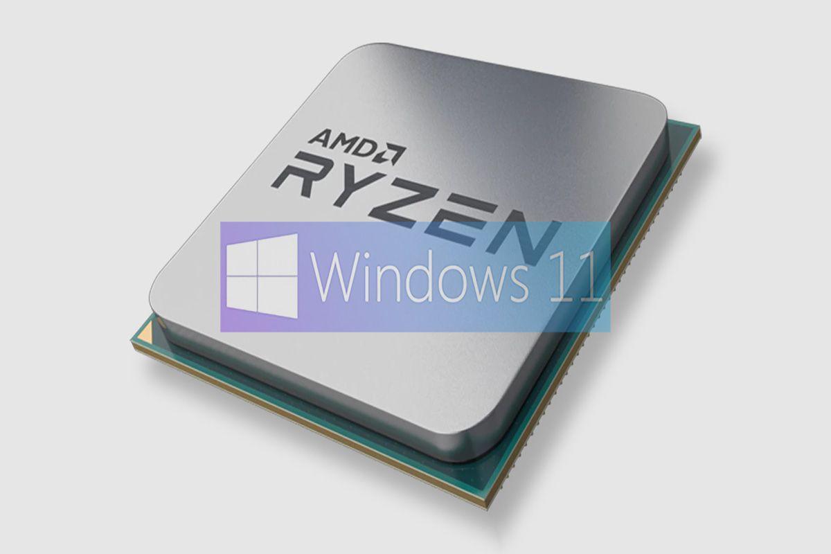 windows 11 tiene problemas de rendimiento con los amd ryzen integrada